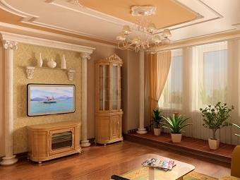 Лепнина в оформлении интерьера домов и квартир