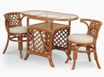 Мебель из ротанга манит уютом