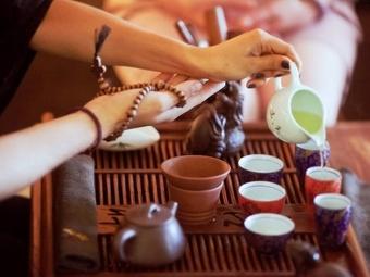 Церемония чаепития в Китае