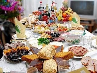 Подготовка к Новому году: вкусное меню