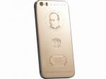 Новинка на российском рынке: золотой  iPhone с изображением В. Путина