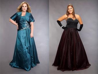 Вечерние платья для полных женщин: как выбрать наряд для любого образа