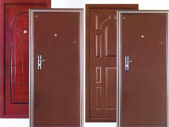 Металлические двери: правила защиты имущества