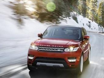 Новые модели Range Rover Sport уже впродаже