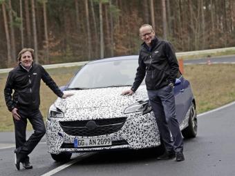 Всети рассекретили новый Opel Corsa OPC