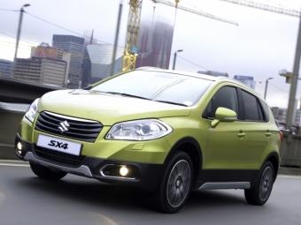 Suzuki SX4 летом ждет технический рестайлинг