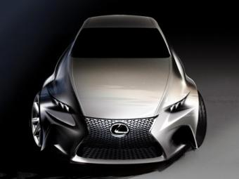 Lexus презентует вЖеневе абсолютно новый концепт