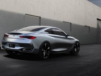 Серийное купе Infiniti Q60 получит моторы Mercedes-Benz