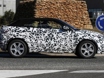 Range Rover в2015-м покажет кабриолет Evoque