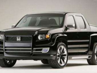 Новая Honda Ridgeline: Первое изображение