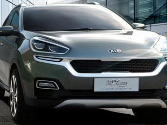 Фотошпионы «засветили» новый внедорожник Kia KX3