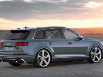 Audi Q7 получит «горячую» версиюRS