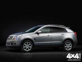 Cadillac покажет следующее поколение SRX вНью-Йорке сновым названием