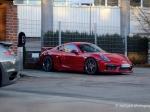 Шпионские фотографии нового Porsche Cayman GT4