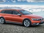 Компания Volkswagen обновила внедорожный Passat Alltrack