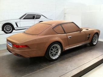 Британская компания Jensen анонсировала спорткарGT