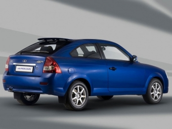 АвтоВАЗ прекращает выпуск Lada Priora Coupe
