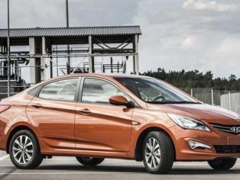 Лучшим недорогим легковым автомобилем в2014 году стал Hyundai Solaris— Опрос