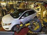 Новое поколение кроссовера Ford Edge запустили впроизводство