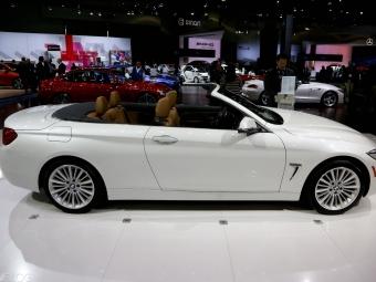 Названа рублевая стоимость кабриолета BMW 4-Series