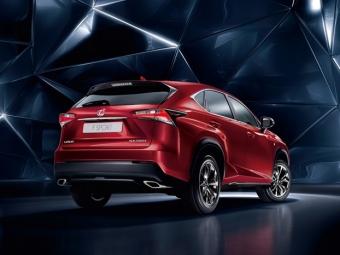Lexus рассекретил характеристики нового кроссовераRC