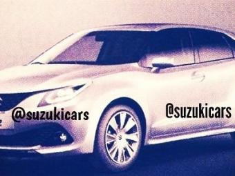 Рассекречены новые хетчбэк икроссовер Suzuki