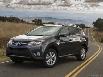 Вновь подорожали кроссоверы ивнедорожники Toyota