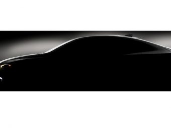 Chevrolet показал тизер седана Malibu 2016