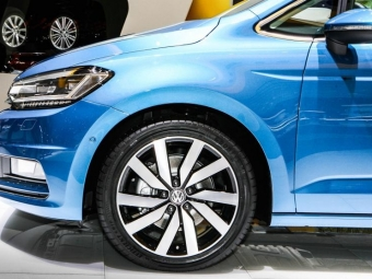 Женева 2015: компактвен Volkswagen Touran