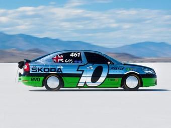 Компания Skoda представила самый быстрый хэтчбэк Skoda Octavia RS