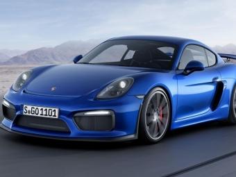 Porsche может выпустить «заряженную» версию Cayman GT4 RS