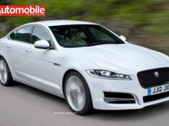 Новый JaguarXF покажут вНью-Йорке