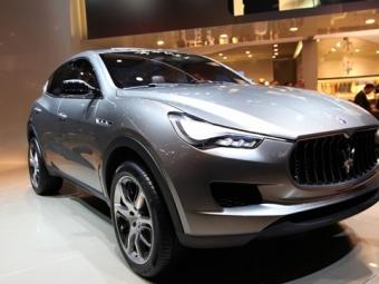 Самый ожидаемый автомобиль отMaserati Levante будет оснащен гибридной установкой