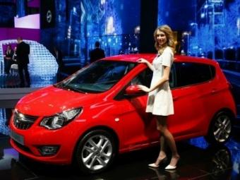 ВЖеневе Opel презентован новое бюджетное авто Karl