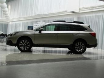 ВУкраине представили новый Subaru Outback 2015