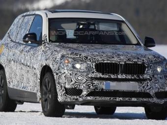 BMW проводит испытания кроссовера X3 нового поколения