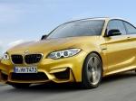 Появился первый снимок BMW M2 Coupe 2016 модельного года