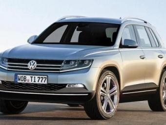 Volkswagen готовит семисестный TiguanXL