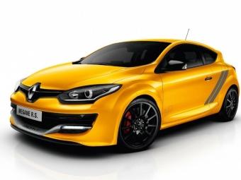 Renault ClioRS иMeganeRS вРоссию будут поставляться попредзаказам