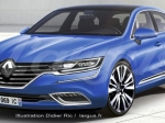 Новый седан компании Renault представят всередине лета 2015 года