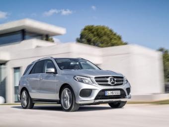 Mercedes представил новый GLE