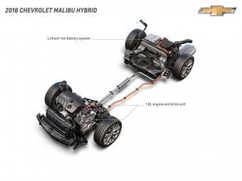 Наавтосалоне вНью-Йорке будет представлен новый Chevrolet Malibu