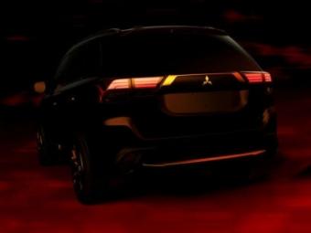 Фотографии нового Mitsubishi Outlander