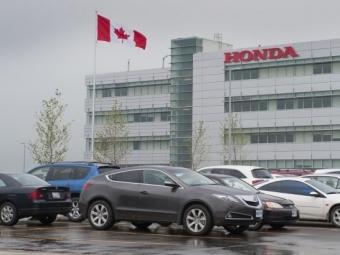 Наевропейский рынок отправят новое поколение Honda CR-V канадской сборки