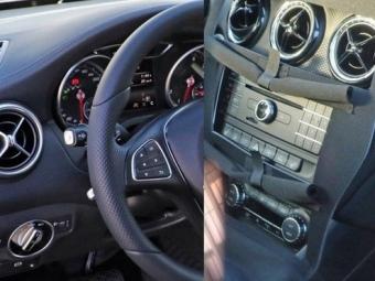 Всеть попали снимки салона обновленного Mercedes-Benz A-класса