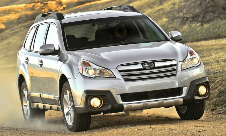 Летом нароссийский рынок выйдет новый внедорожник Subaru