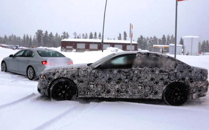 Фотошпионы запечатлели новоиспеченный BMW 5-Series вовремя тестов