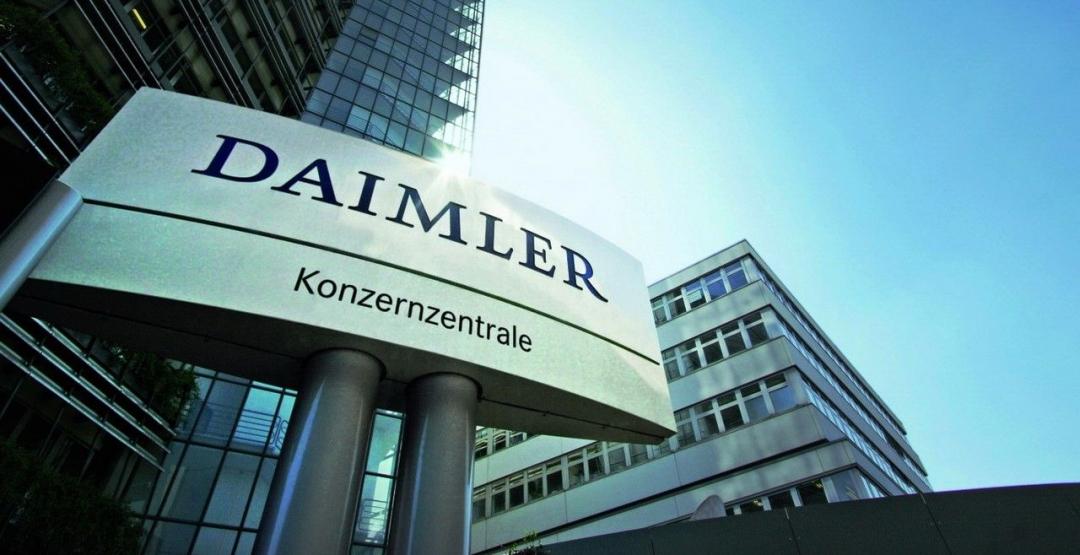 Daimler вмае примет решение остроительстве вРоссии завода