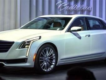Cadillac официально представит вШанхае гибридный седан СТ6