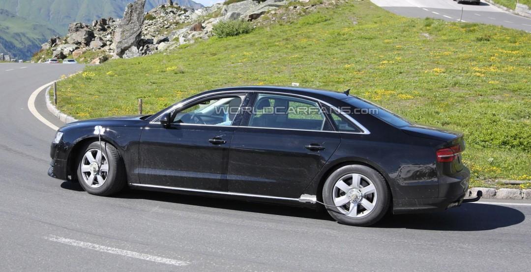 Немцы рассказали, что будет под капотом уновой Audi A8